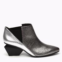 United Nude Jacky Mid Gun Metal And Silver