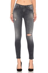 Black Orchid Jude Mid Rise Super Skinny Raven