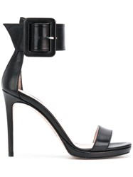 Anna F. Buckle Open Toe Sandals Unavailable