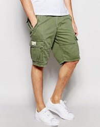 Denim And Supply Ralph Lauren Cargo Shorts Olive Green