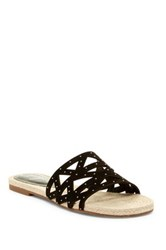 Fergie Minx Slip On Sandal Black