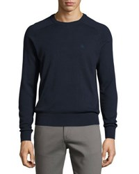 Original Penguin Long Sleeve Crewneck Sweater Blue