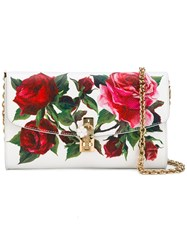 Dolce And Gabbana Rose Pink Crossbody Bag Women Calf Leather One Size