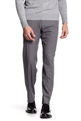 Kenneth Cole Reaction Stretch Heather Pants 29 34 Inseam Dk Grey