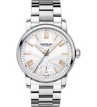 Montblanc 114852 4810 Stainless Steel And Red Gold Watch