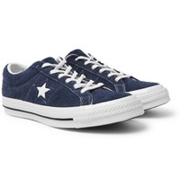 Converse One Star Ox Suede Sneakers Navy