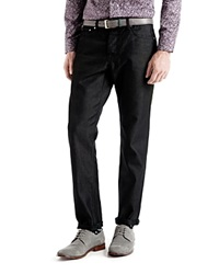 Ted Baker Sudd Straight Fit Jeans In Black