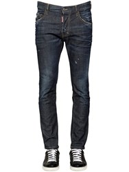 Dsquared 16Cm Skater Stretch Denim Jeans