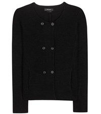 Isabel Marant Della Double Breasted Cardigan Black