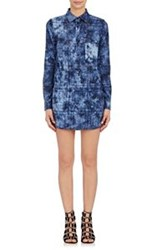 Thakoon Tie Dyed Romper Blue