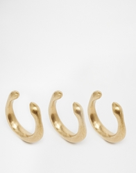Made Infinity Stacking Rings Brass