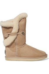 Australia Luxe Collective Nordic Shearling Boots Nude