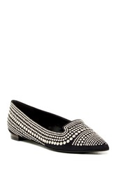 Enzo Angiolini Ayaki Smoking Slipper Black