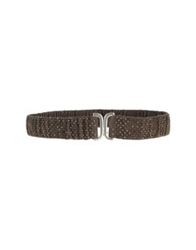 Post And Co Belts Dark Blue