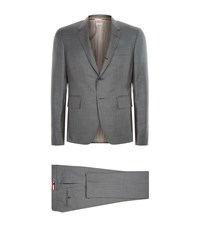 Thom Browne Super 120 Twill Suit Male Grey