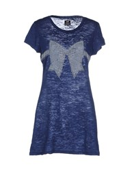 E.Vil Topwear T Shirts Women Dark Blue