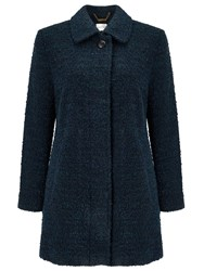 Eastex Boucle Wool Coat Multi Coloured