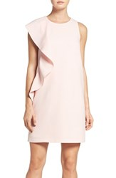 Chelsea 28 Women's Chelsea28 Asymmetrical Ruffle Shift Dress