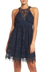 Chelsea 28 Women's Chelsea28 Lace Fit And Flare Dress