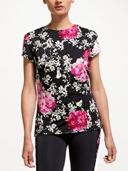 Ted Baker Fit To A T Babylon Fitted T Shirt Multi