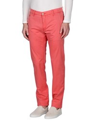 Jacob Coh N Academy Trousers Casual Trousers Men Coral