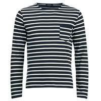 A.P.C. Men's Mariniere Etienne T Shirt Dark Navy Blue