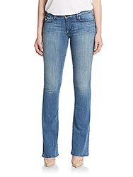 True Religion Becca Mid Rise Flared Jeans Earth Mystery