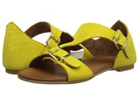 Miz Mooz Roman Yellow Women's Sandals