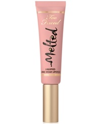 Too Faced Melted Liquified Long Wear Lipstick Melted Nude