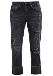 Only Onlshawn Straight Leg Jeans Black Black Denim