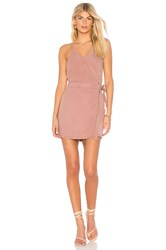Yfb Clothing Alberta Dress Mauve