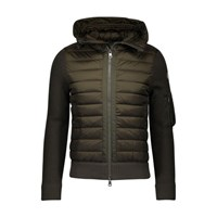 Moncler Double Material Hooded Sweatshirt Miscellaneous