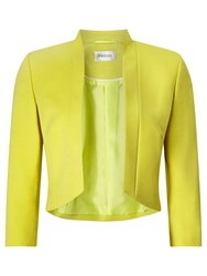 Precis Petite Jane Cropped Jacket Mid Yellow