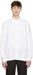 Sacai White Drawstring Shirt