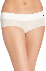 Women's Kensie 'Kate' Hipster Bikini Briefs Oatmeal Heather