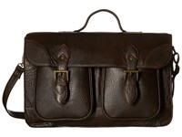 Scully Squadron School Bag Chocolate Bags Brown