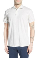 Men's Quiksilver 'Sun Cruise' Jersey Polo Snow White