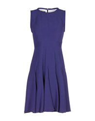 Aquilano Rimondi Short Dresses Purple