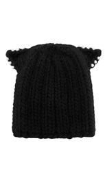 Eugenia Kim Felix Knit Beanie Black