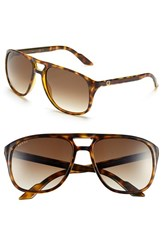 Men's Gucci '1018S' 57Mm Sunglasses Havana Brown Gradient