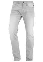 Replay Newbill Straight Leg Jeans Grey Denim