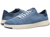 Cole Haan Grandpro Tennis Stitchlite Navy Peony Riverside Heathered Shoes Blue