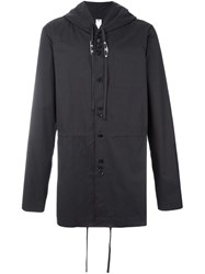 Damir Doma Drawstrings Hooded Jacket Grey