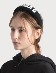Maison Martin Margiela Mm6 6 Headband Black
