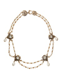 Stephen Dweck Victorian Amethyst And Pearl Necklace