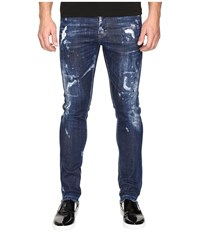 Dsquared Cool Guy American Pie Jeans In Blue Blue Men's Jeans