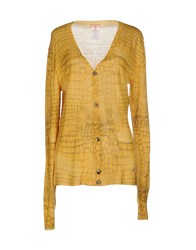 Galliano Knitwear Cardigans Women Ocher