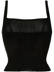 Manning Cartell Ribbed Knit Square Neck Top 60