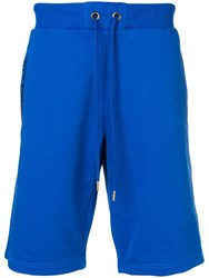 Versace Jeans Track Shorts Blue