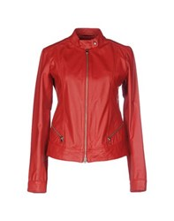 Gold Case Coats And Jackets Jackets Women Red